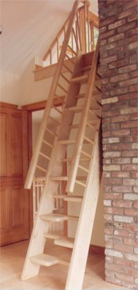 Awesome Steep Stair On Alternative Stairways