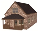 1.5 Story 20x30 Cottage from CountryPlans.com
