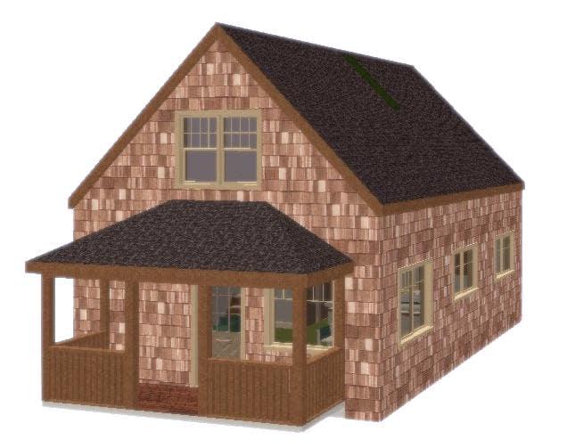 1.5 Story Cottage on