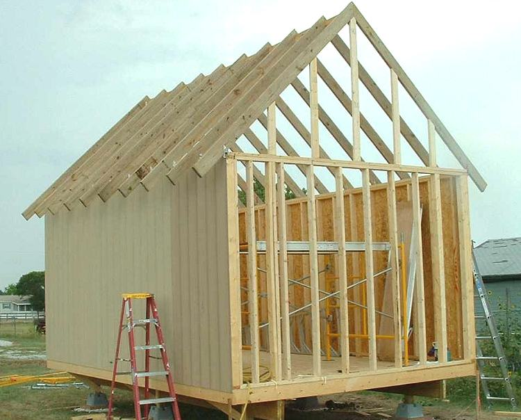 12 x 18 owner-built Cabin or Storage shed
