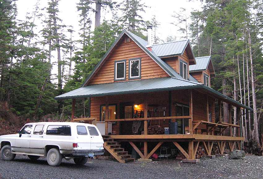alaska cabin owner built