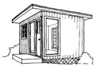 The 10x14 Little House Cottage from CountryPlans.com