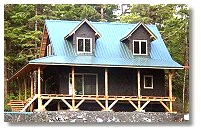 Cottage, cabin & small country home plans