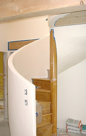 cottage spiral stair